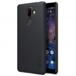 Nillkin Super-Frosted-Shield Executive Case for Nokia 7 Plus -Black