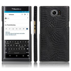 Leather Case for Blackberry priv -Black