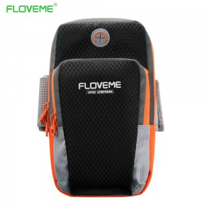 FLOVEME Waterproof Running,Cycling Sport Phone Armband Arm-Bag Case