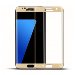 Samsung S7 Edge  3D Curved Edge Tempered Glass  Protector