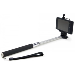 Selfie Stick Aluminum Monopod for iPhones and Android Smartphones