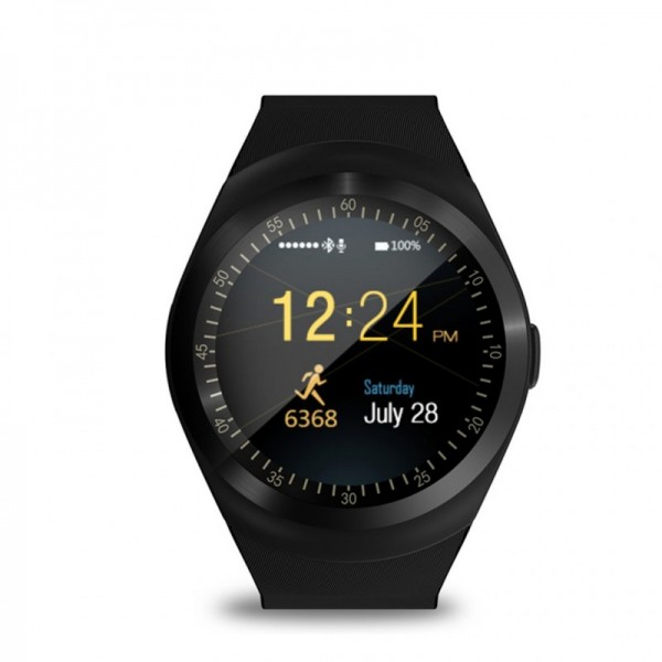 Smart Gear Y1 - Smart Watch Phone - Black