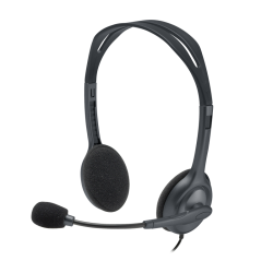 Logitech H111 Stereo Headset With Noise Cancellation Mic