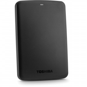 Toshiba 500GB - Canvio Basic Portable USB 3.0 Hard Drive - Black