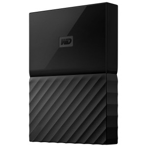 WD My Passport 1TB/2TB External Hard Disk Drive - Black